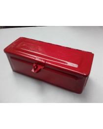 Gereedschapskist rood 280mm x 105mm x 105mm