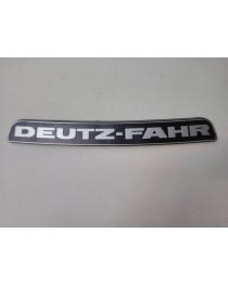 Deutz 07 Frontembleem motorkap (Tijdelijk niet leverbaar)