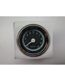 Oliedrukmeter 0 t/m 10 (60mm) (zwart)