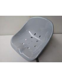 Zitpan hoog 2,0 mm dik (grondverf grijs)