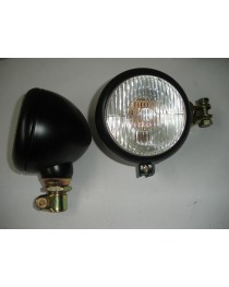 Koplamp 105mm buisaansluiting 24mm
