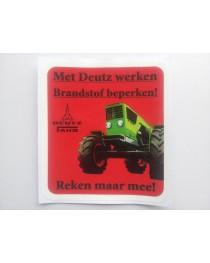 Brandstof sticker 06 NL