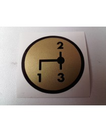 Schakelschema 1-2-3 goud rond