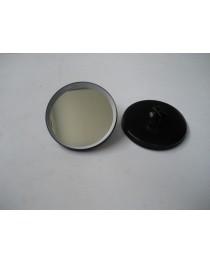 Spiegel 130mm metalen behuizing