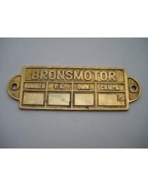 Brons 160x50mm