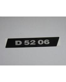 D5206 links grijs