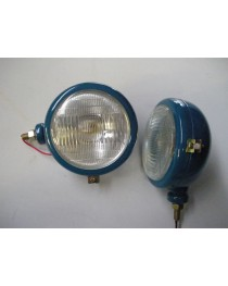 Koplamp Engels model Blauw Links
